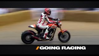 Keanu Reeves and Arch Motorcycle Co. -- /GOING RACING WITH ADAM CAROLLA. Drive Youtube Channel.