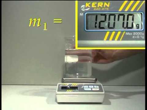 Principio de Arquímedes: Determinación de densidades de sólidos y líquidos