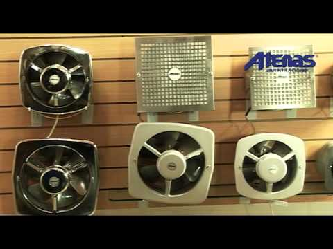 Extractores de cocina atenas ventilacion youtube - Extractores para cocinas ...