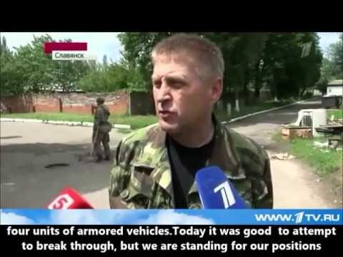 THE CRISIS AND WAR IN UKRAINE, SLAVYANSK,LUGANSK,DONETSK