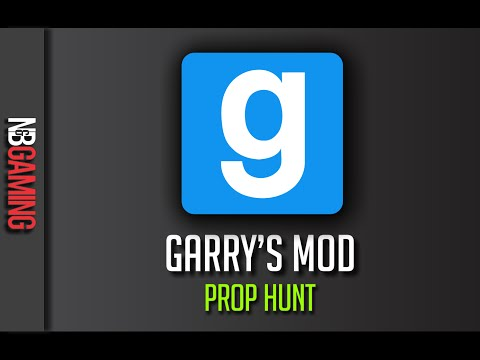 Garry's Mod Prop Hunt Stream on PC from 11/14