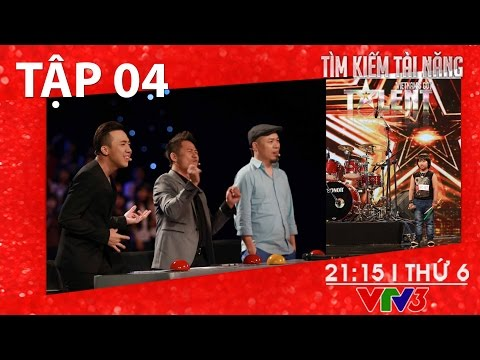 [FULL HD] Vietnam's Got Talent 2016 - TẬP 04 (22/01/2016)