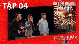 [FULL HD] Vietnam's Got Talent 2016 - TẬP 04 (22/01/2016)