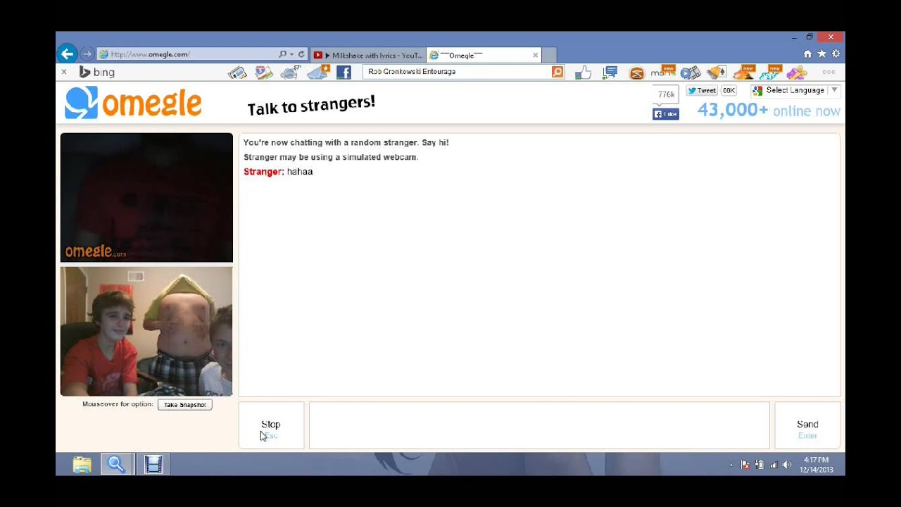Omegle chat roulette fun mix 2 5