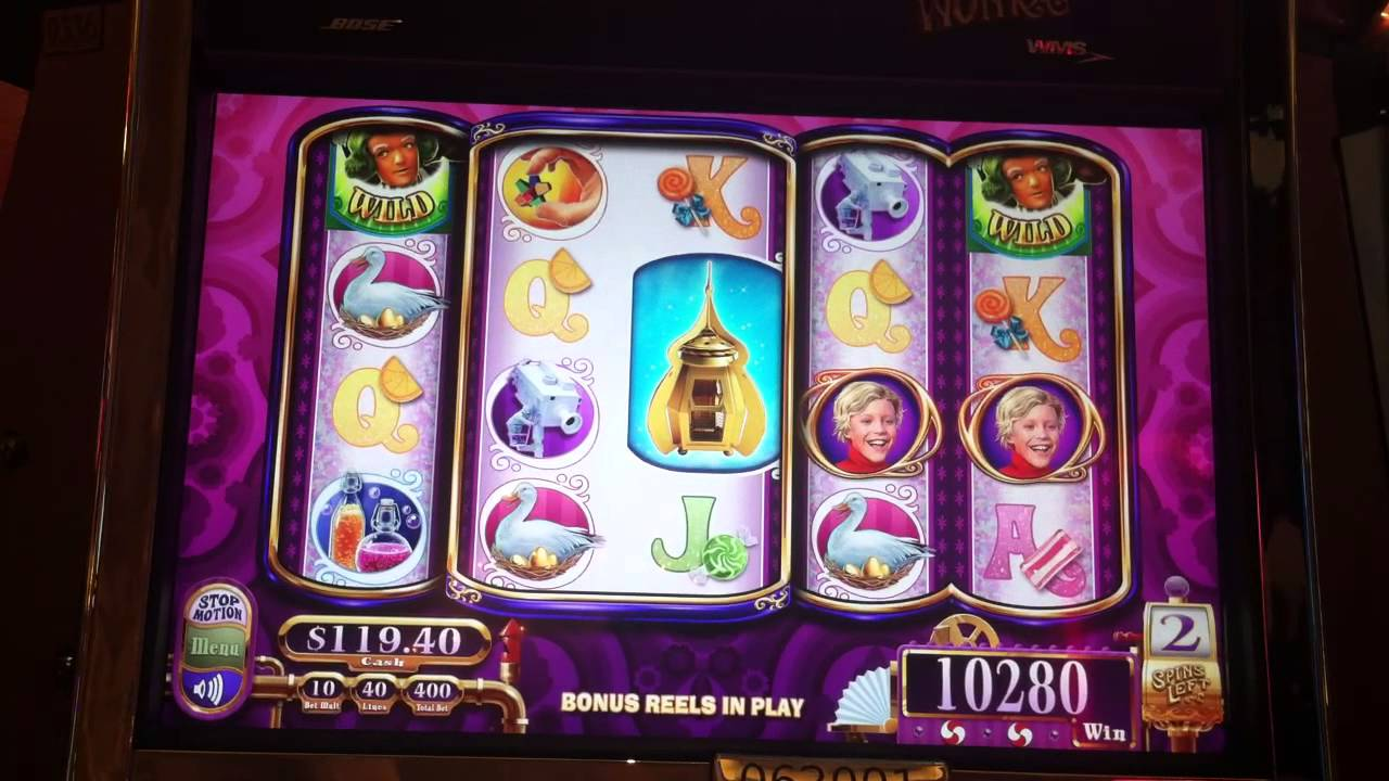 willy wonka 3 reel slot machine reviews