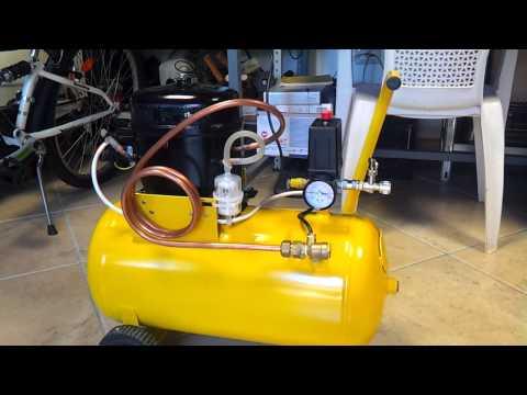 Compressore autocostruito con motore frigo