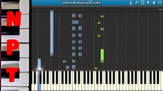 Miley Cyrus Wrecking Ball Piano Tutorial (How To Play On