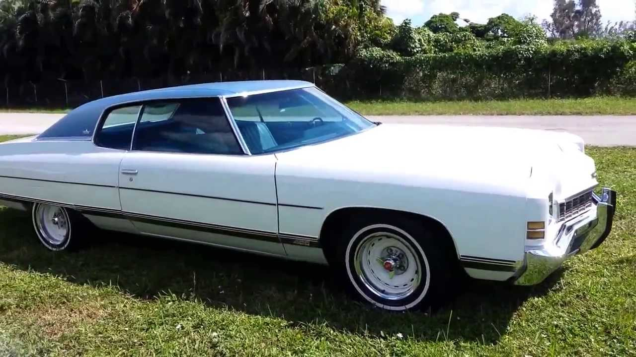 1972 Chevrolet Caprice Classic With Rare Bb 402ci For Sale