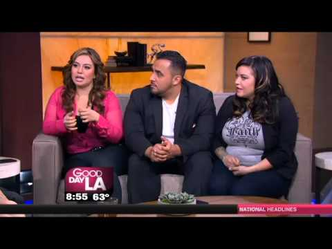 Chiquis Rivera, Juan Rivera y Jacqie Campos Interview on Good Day LA