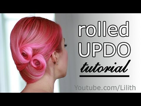 Christmas / New Year's eve hairstyles for medium long hair - Karácsony / Szilveszter frizurák