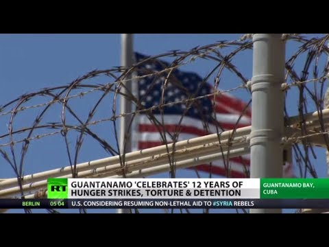 Dirty Dozen: Gitmo 'celebrates' 12 yrs of torture & detention