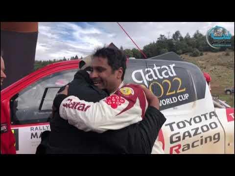 ناصر العطية يفوز برالي المغرب 2018