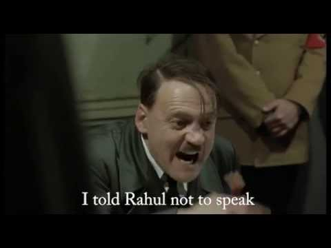 Hitler's reaction on Indian Elections 2014