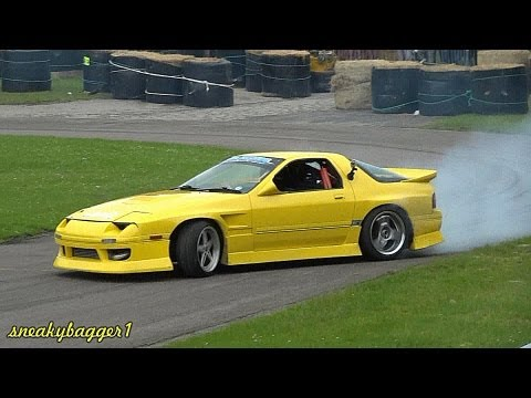 Drifting At Alford Speedfest 2012