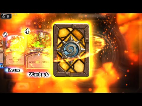 Lady in White - The Witchwood Hearthstone legendary card pack opening