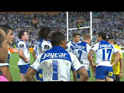 Ben Barba magic try vs Eels 2011 Round 6