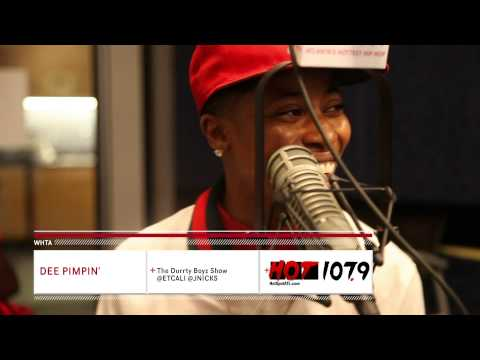 Dee Pimpin' Catfish Interview on Hot 107.9 Atlanta