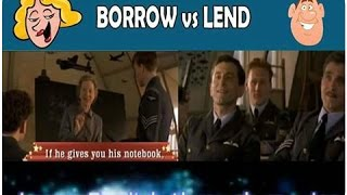 The difference between 'Borrow' and 'Lend' - Dark Blue World