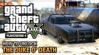 GTA 5 How To Unlock The Duke O' Death [PS4 & Xbox One