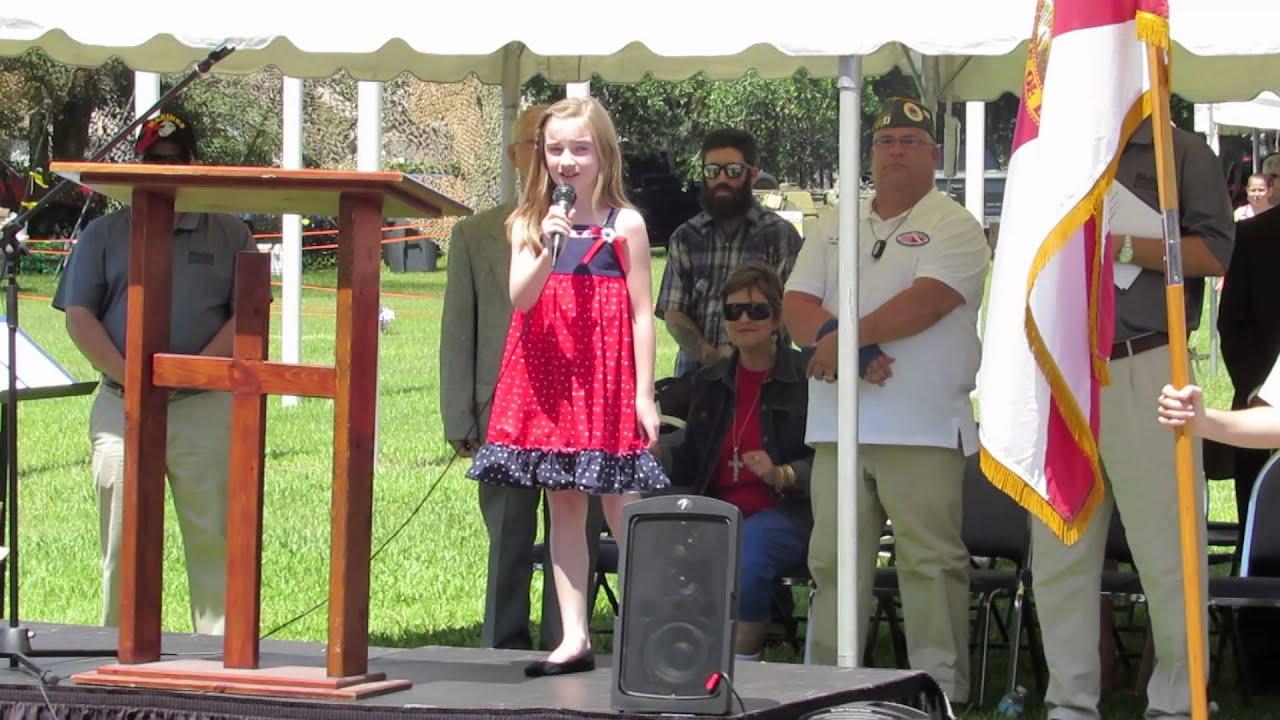 tomlinson singing god bless america on memorial day 2013 youtube