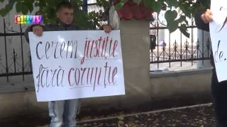 Primarul de Șoldănești intimpinat la CAB cu protest