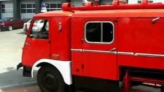 Star 25 Babcia Radom JRG 1 Pożar Straż