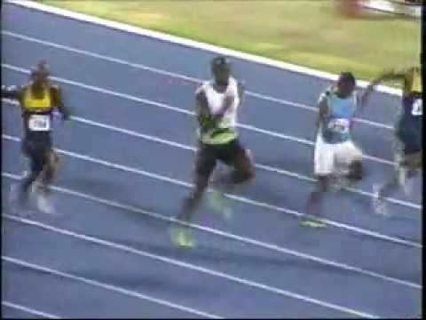 Usain Bolt wins Men's 100m Heat 1  (10.05s) - Jamaica National Champs 2012