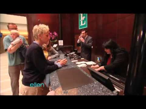 Ellen's Embassy Suites Surprise!
