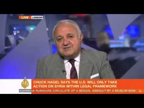 Dr. Khonsari regarding Iran-Syria on Al Jazeera English