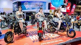 Siêu xe và dàn hot girl bốc lửa tại Triển lãm xe máy - Vietnam Motorcycle Show 2016, HCM ct, Vietnam