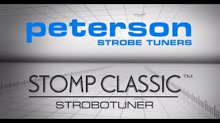Watch the Trade Secrets Video, Peterson StroboStomp Classic Pedal Tuner Video