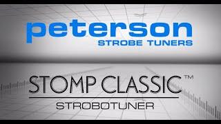 Watch the Trade Secrets Video, Peterson StroboStomp Classic Pedal Tuner Video