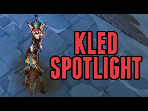 LoL Kled Ability Gameplay Spotlight!