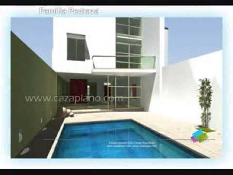Planos de casas fachadas modernas y dise os de viviendas for Planos y disenos de casas