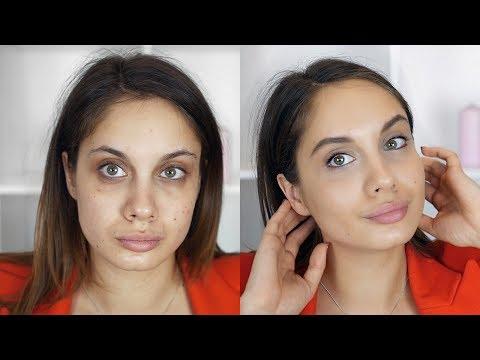 Чем скрыть синяки под глазами макияж