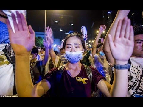 Phong trào chiếm đóng Hồng Kông: Chính quyền đáp trả bằng bạo lực