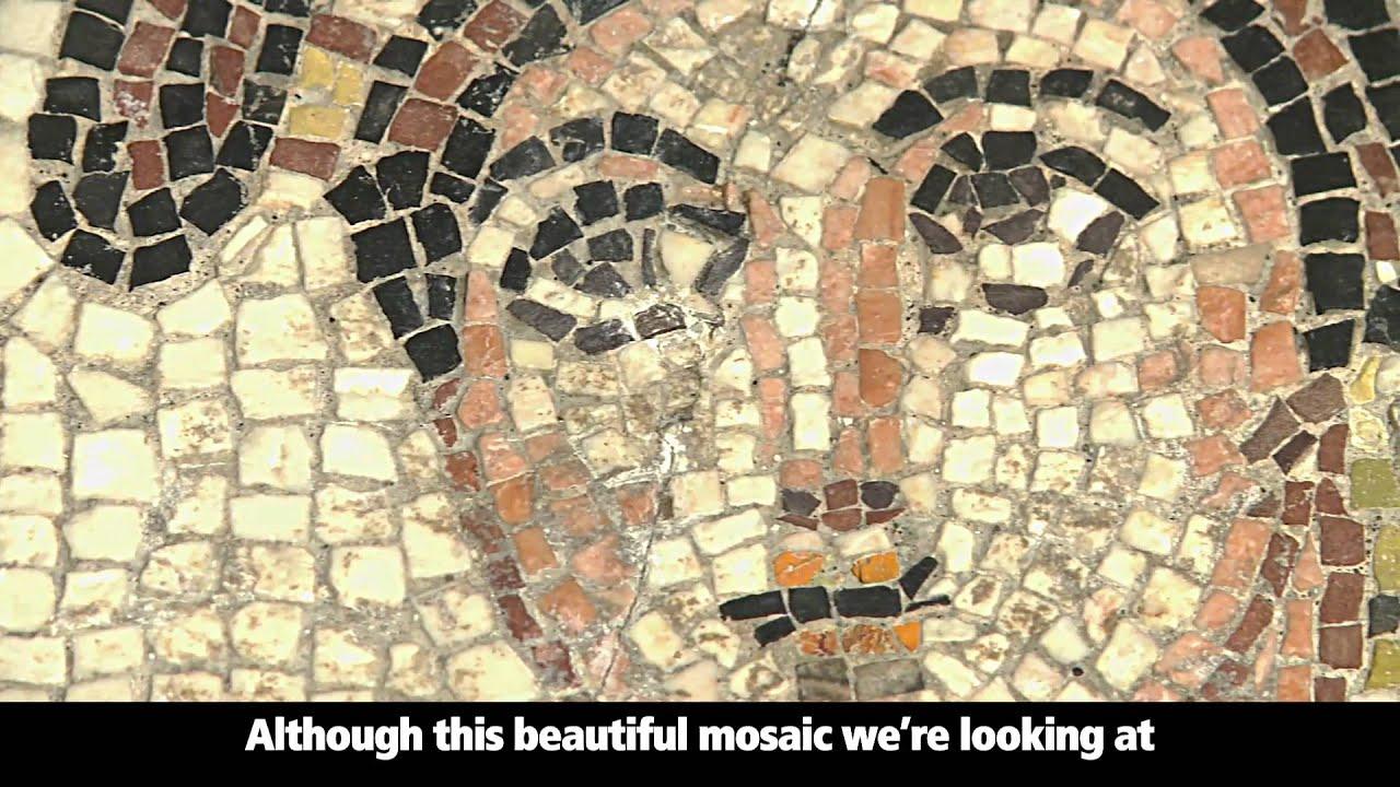 Early Roman Mosaic Youtube