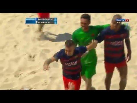 Barcelona vence o Al Ahli por 3 a 2 na prorrogação