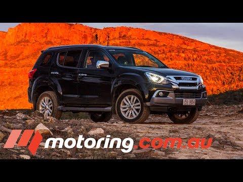 2017 Large 4WD SUV Comparison - Isuzu MU-X | motoring.com.au