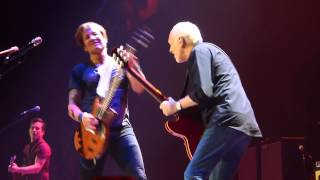 "Keith Urban and Peter Frampton with The Beatles, ""Get Back"" in Nashville 2/1/14"