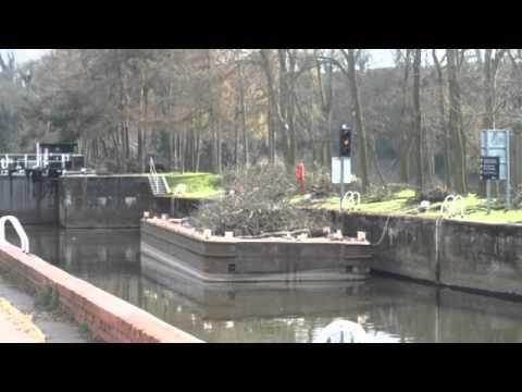 Gunthorpe Lock Nottingham Nottinghamshire
