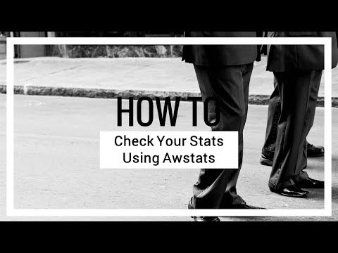 How to Check Your Stats Using Awstats