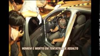 Homem � morto � tentativa de assalto em Contagem