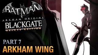 Batman: Arkham Origins Blackgate Walkthrough - Part 7 - Arkham Wing [Deluxe Edition]