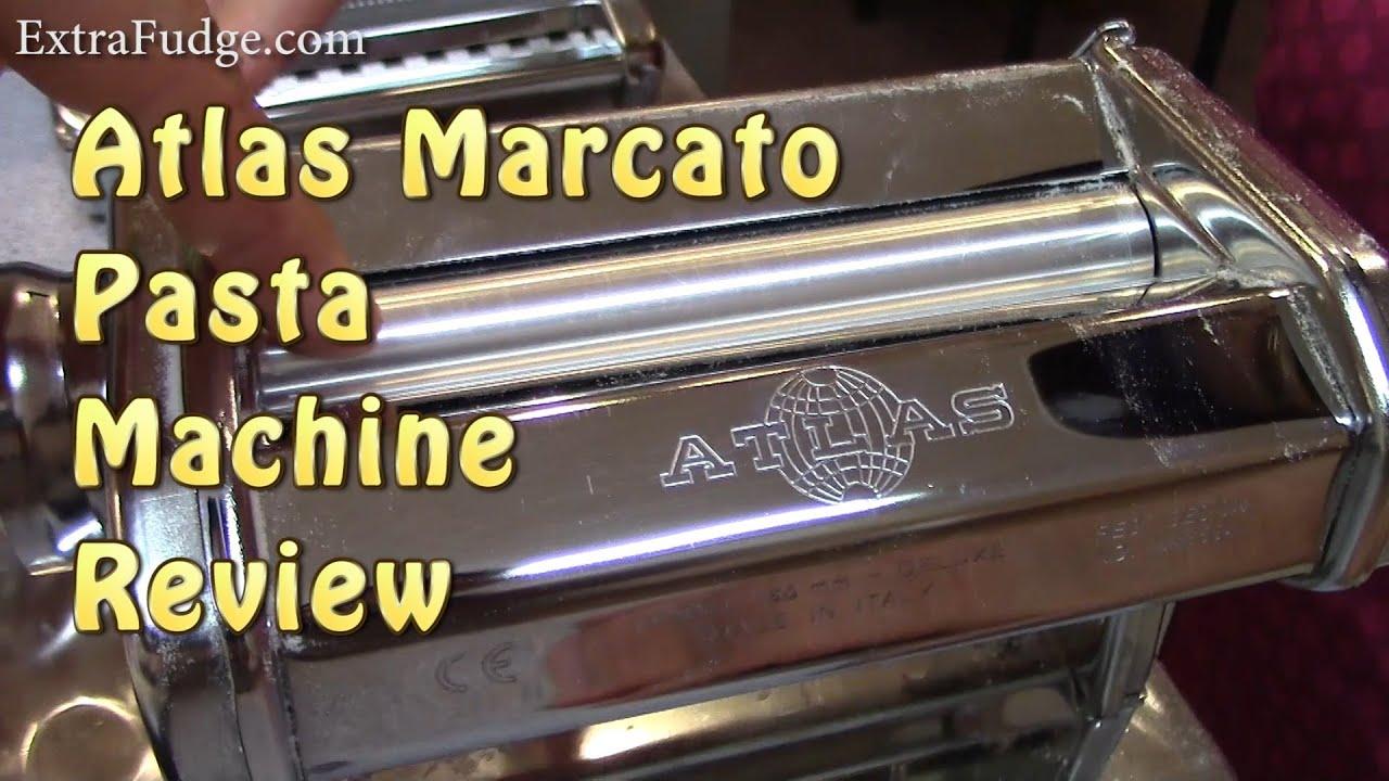 Atlas 150 Marcato Pasta Machine Review - YouTube