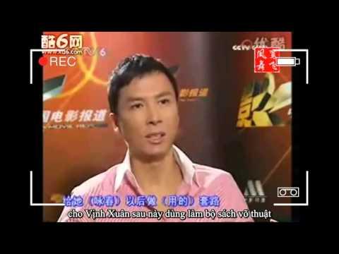 Chung Tử Đơn nói về Vịnh Xuân Quyền và thần tượng Lý Tiểu Long của mình