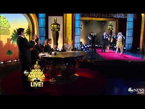 Ginger Zee Wows in Oscar Worthy Dance With Derek Hough-GMA