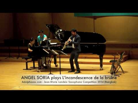 ANGEL SORIA plays L'incandescence de la bruine by Bruno Mantovani