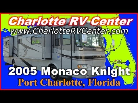 2005 Monaco Knight 38PDQ Used Class A Diesel Motorhome FOR SALE; Stock# 1094