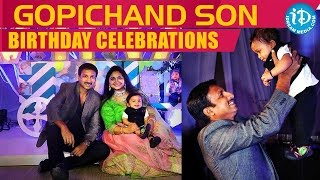 Exclusive - Actor Gopichand's Son Virat First Birthday Celebrations